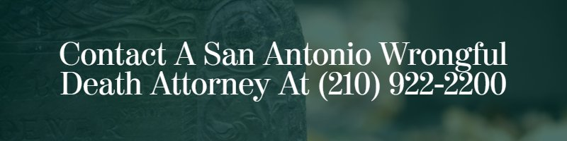 San Antonio wrongful death lawyer