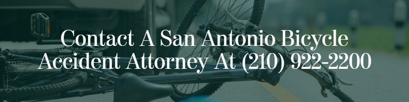 san antonio bicycle accident attorney